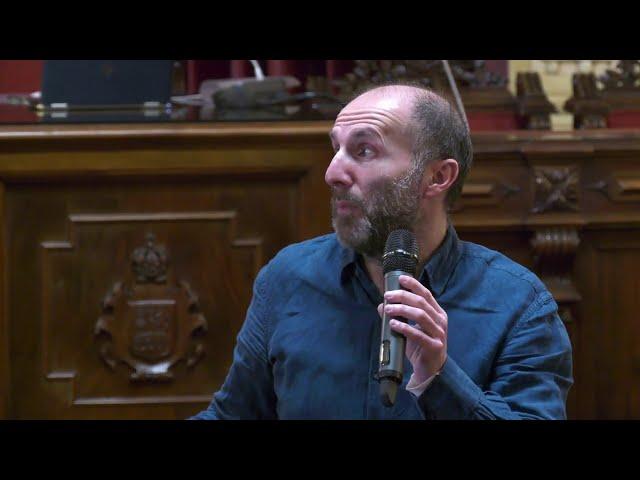 Rueda de Prensa - Gonzalo Pérez Jácome, Alcalde de Ourense; Visita obras de rúas de Ourense 5-2-21