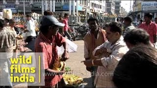 Fruit market in Mysore - Karnataka