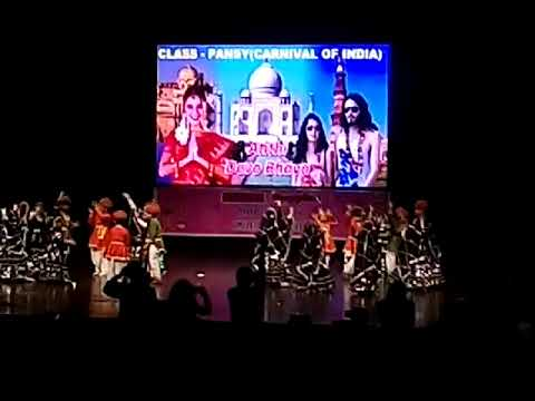 Delhi school  dance video