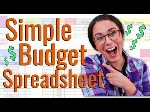 Need An Easier Way To Budget? 🤔 | Simple Budget Template Tutorial Using Google Sheets!