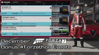Forza Motorsport 7 - December Bonus #Forzathon Events