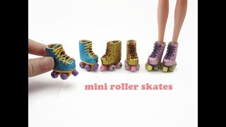DIY Miniatures Doll Mini Roller Skates