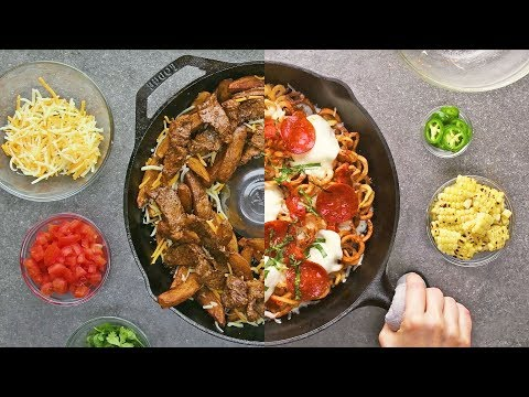 Learn How To Cook | 4 Way Loaded Fries | French Fries At Home With So Yummy
