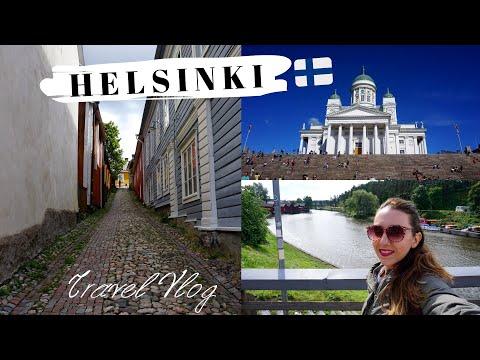 FINLAND Travel Vlog: HELSINKI & Porvoo in Summer-Helsinki in 3 Days #Helsinki |Olga-Maria Riante
