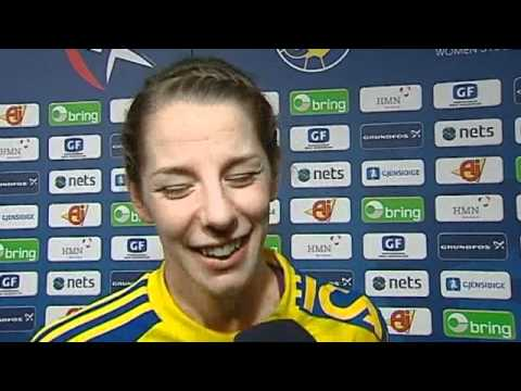Handboll - Matilda Boson - EM 2010 (Intervju)