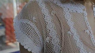 Очень красивые вязаные крючком кофточки. Beautiful crochet blouses