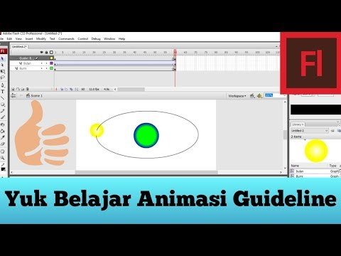 Tutorial Adobe Flash | Animasi Guideline thumbnail