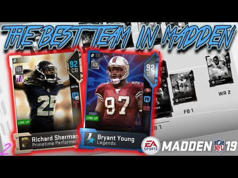 THE BEST TEAM IN MADDEN | EPISODE 2 | MADDEN 19 ULTIMATE TEAM