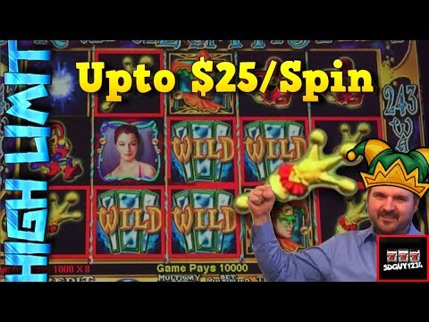 Gettin' Risky and Frisky With Carnival of Mystery Slot Machine Live Plays with Bonus and BIG WINS! - 동영상