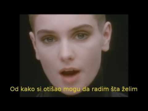 Sinead O'Connor - Nothing Compares 2 U (srpski prevod)