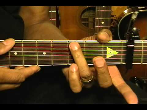 Guitar Close Up Lana Del Rey Style Am Em7 Chord Transition Lesson