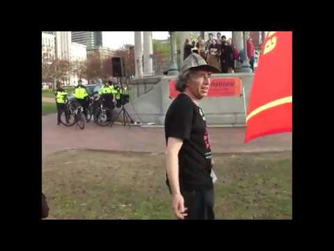 May Day in Boston 2018 -rally/march