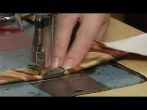 Sewing Piping : Sewing Piping Cord into Piping Casing