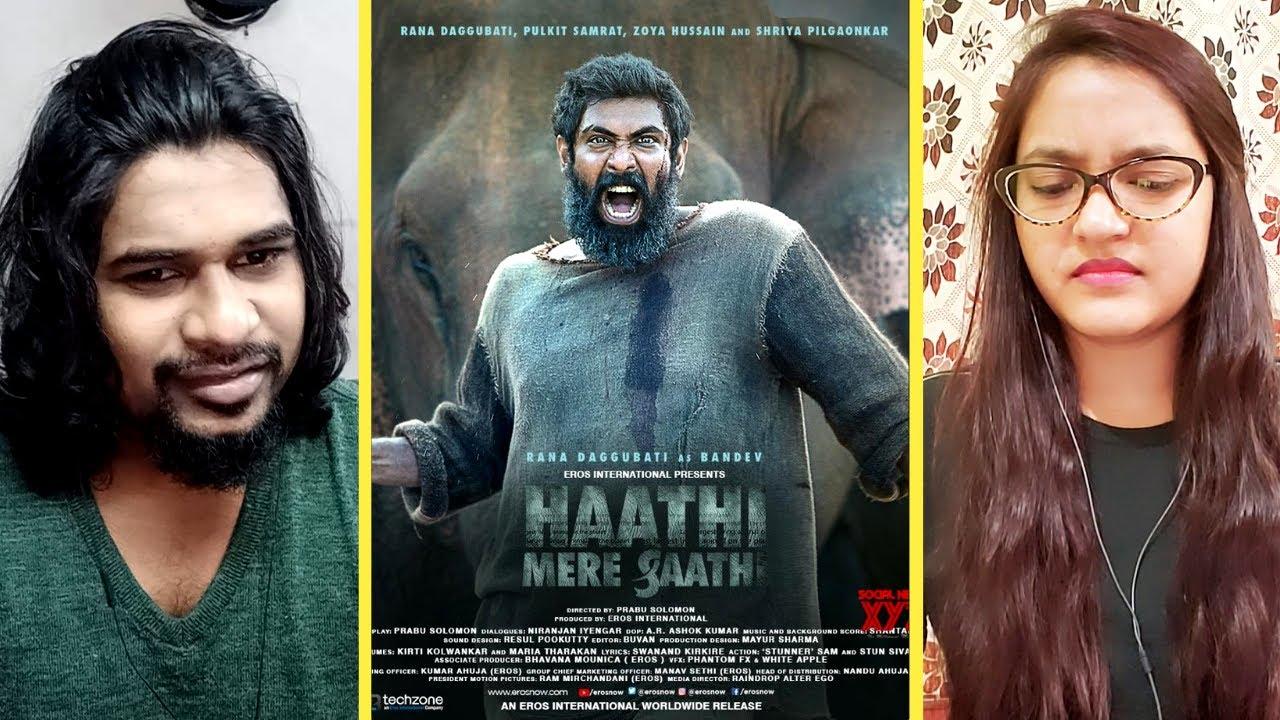HAATHI MERE SAATHI Teaser Review | Rana Daggubati | Prabu Solomon | SWAB REACTIONS
