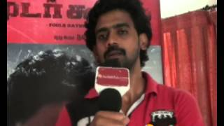 Hero Rajaj Speaks at Moodar Koodam Team Interview