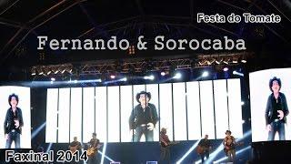 Fernando e Sorocaba ao VIVO LIVRE em Faxinal