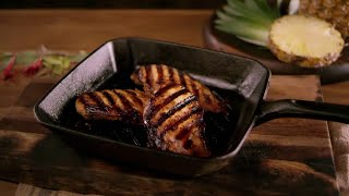 Roasted Pineapple Teriyaki Chicken Breasts
