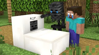 Monster School : Wither Skeleton Sad Life - Sad Story - Minecraft Animation