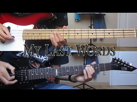MY LAST WORDS - MEGADETH (COVER)