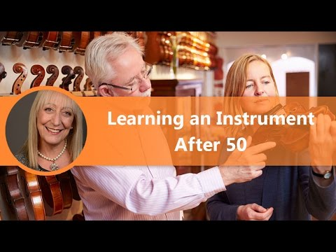 Life After 50: The Benefits of Learning a Musical Instrument