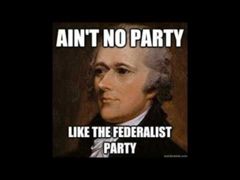 American Government Federalist Party Project