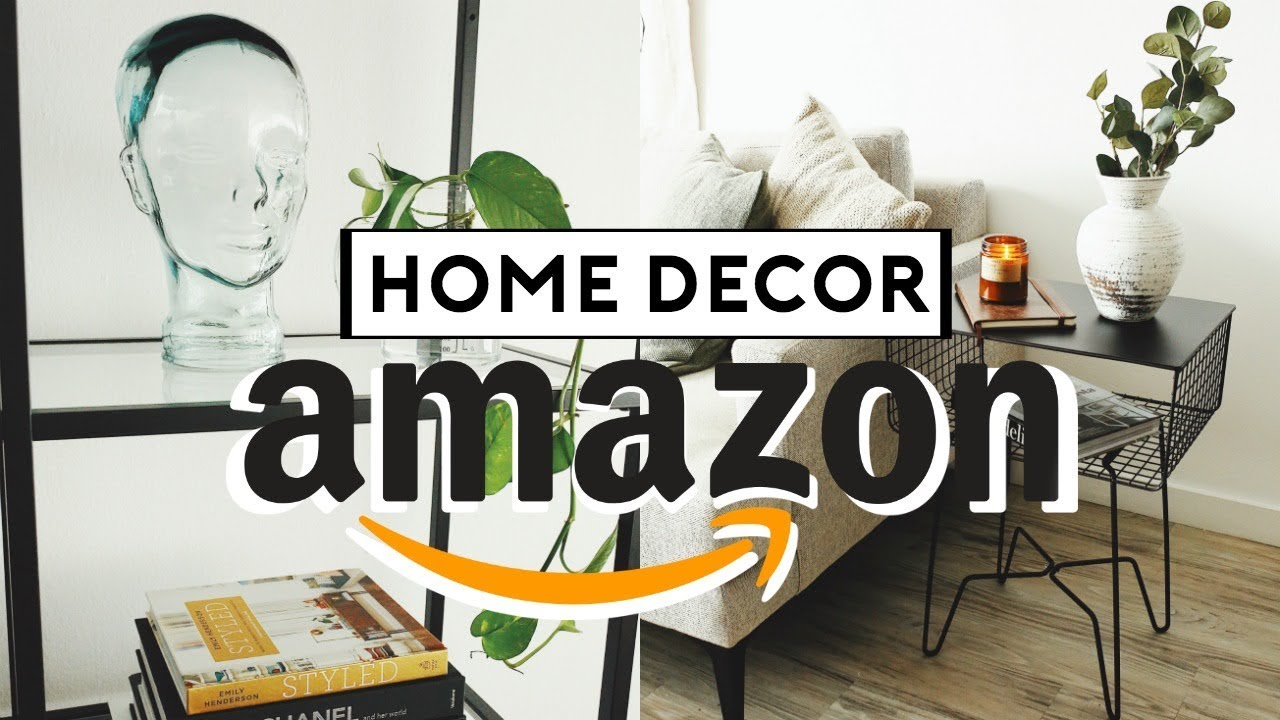 Amazon Home Decor Favorites Affordable Trendy 2019 Nastazsa Youtube