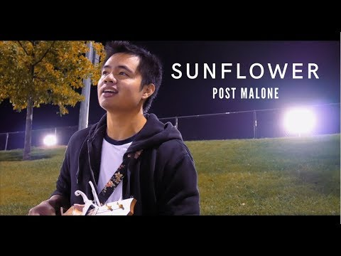 Chords for Sunflower - Post Malone (Ukulele Cover)