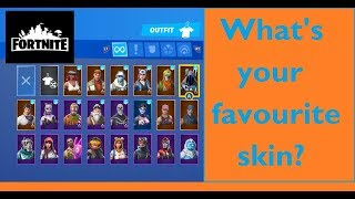 FORTNITE SKINS - My Collection & Favourite Outfit - Season 6 & 7
