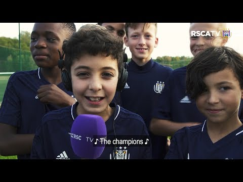 UCL Anthem - RSCA's U12-team Karaoke