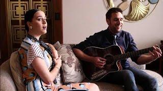 Nick Schilder zingt Katy Perry toe - RTL LATE NIGHT