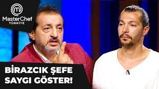 Mustafa'nın Çok Konuşması Mehmet Şefi Sinirlendirdi - MasterChef 2. Bölüm