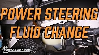 Power Steering Fluid Change: G37/370z - Motorvate's DIY Garage Ep. 17