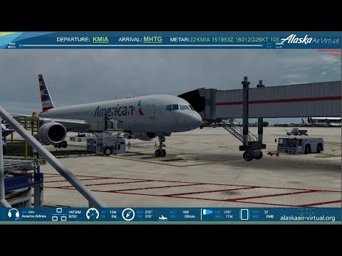 P3D 4.2: American Airlines | Miami to Toncontin | 757 | VATSIM | 2K | Worlds Hardest Approach