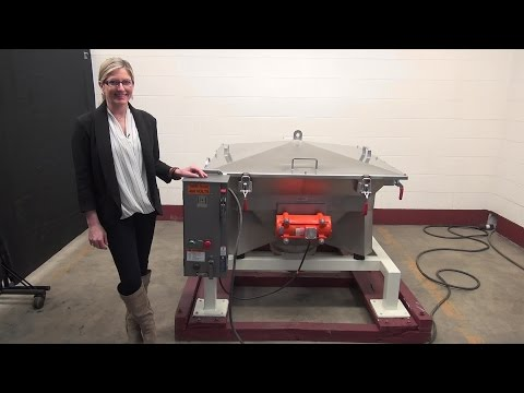 Stainless Steel Bulk Bag Discharge System Demonstration