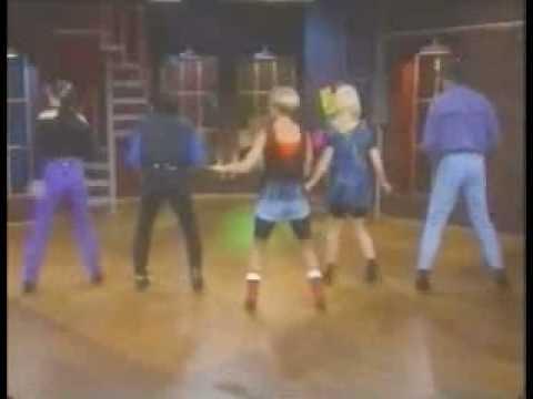 Country hip hop dancing