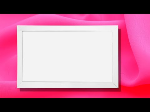 Как сделать рамку формата а4 своими руками