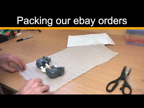 Packing Our Ebay Orders - Reselling On Ebay UK