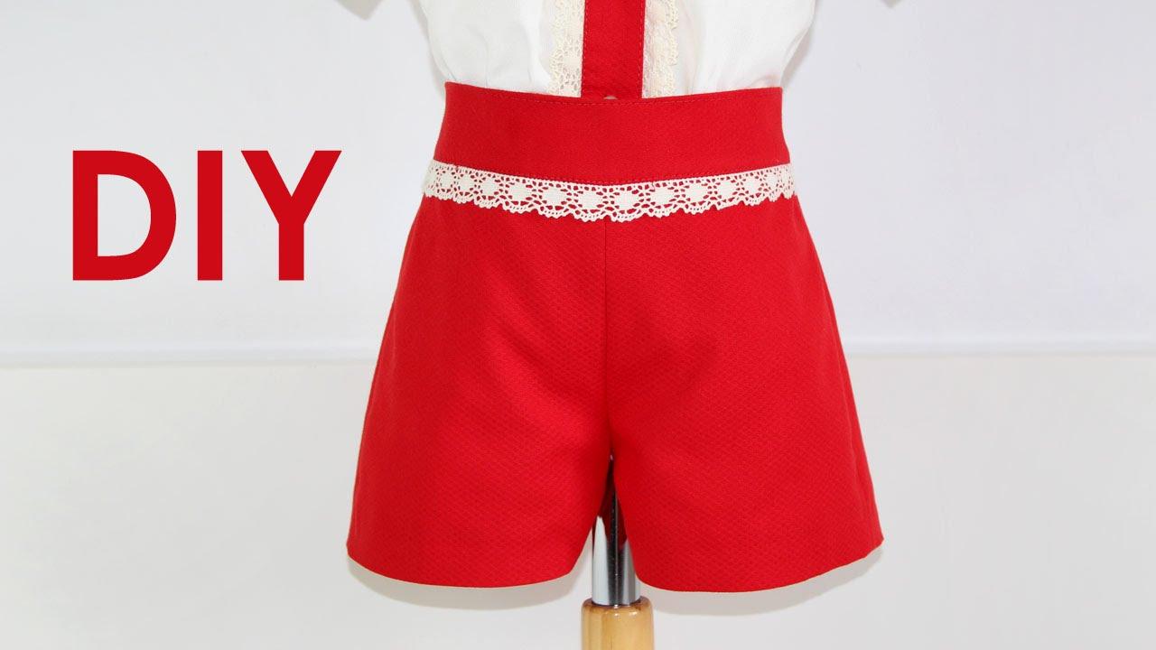 1fd34cdab5 Pantalón de niño básico. DIY - YouTube