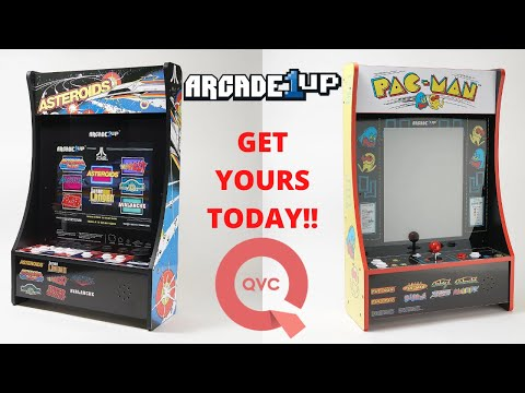 New Arcade1up: In Depth Look at Asteroids and Pac-man PartyCades from PsykoGamer