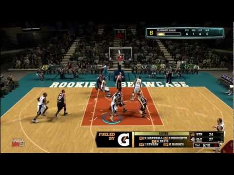 NBA 2K13 MyCAREER - The Rookie Showcase | Full Game With Team Elites Feat. David IpodKingCarter