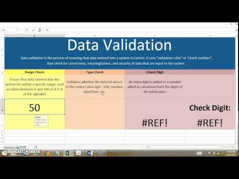 Data Validation Techniques