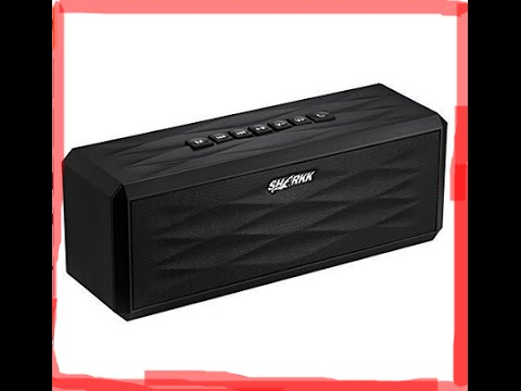 SHARKK® Boombox Bluetooth Speaker Review  22+ Hour Batter