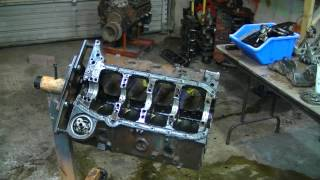 Blown Chevy 406 Overhaul in 5 minutes- Timelapse