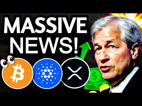 Jamie Dimon BULLISH on Bitcoin - Morgan Stanley GBTC - Fed President BTC - Coinbase Crypto Paycheck