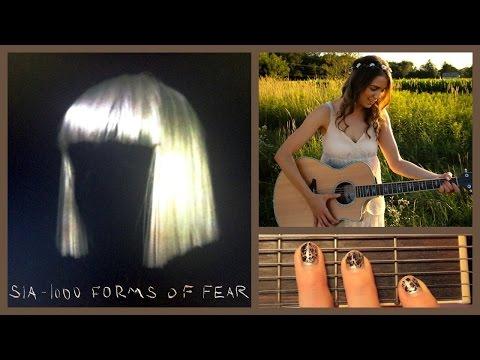 Chandelier - Sia Guitar Tutorial // Easy Chords
