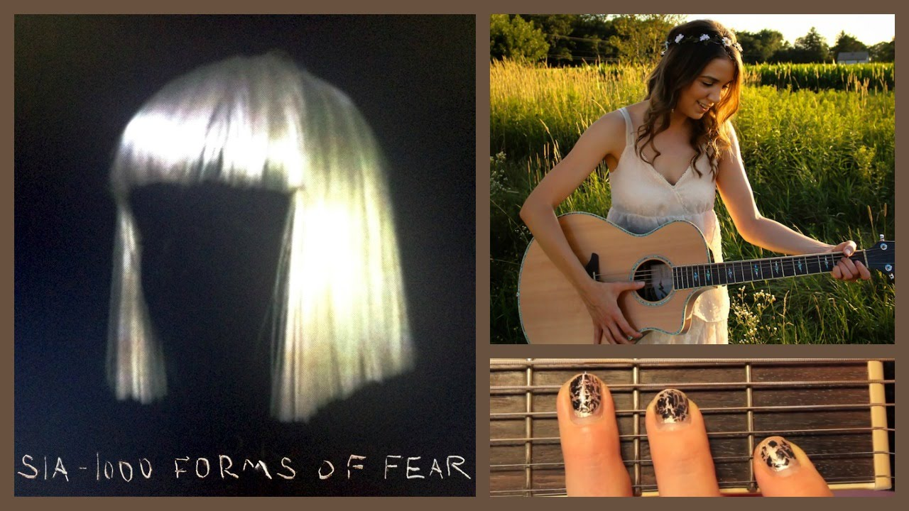 Chandelier - Sia Guitar Tutorial // Easy Chords - YouTube