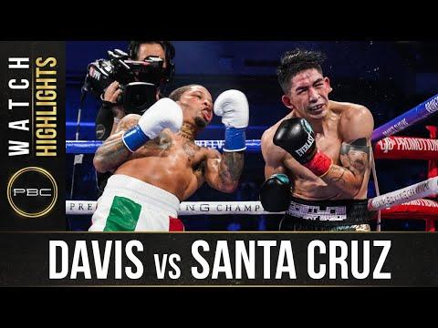 Davis vs Santa Cruz HIGHLIGHTS: October 31, 2020 | PBC on SHOWTIME PPV