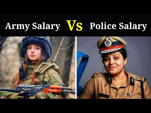 Indian Army Salary Vs Indian Police Salary... Full Detail..