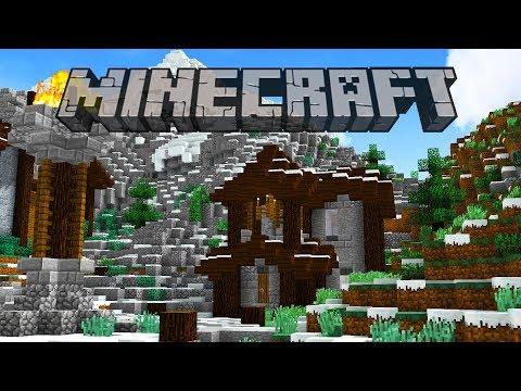 First Snowy Village House | Minecraft 1.12 Survival Let