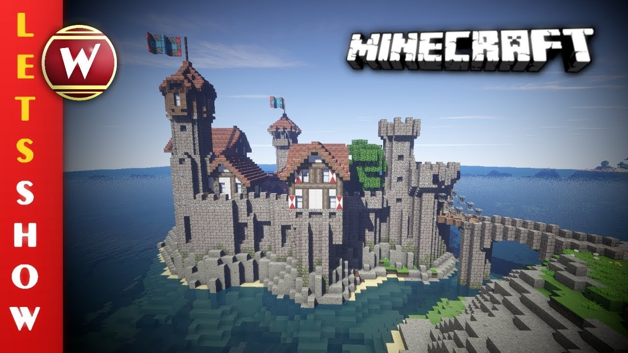 Minecraft Mittelalter Schloss